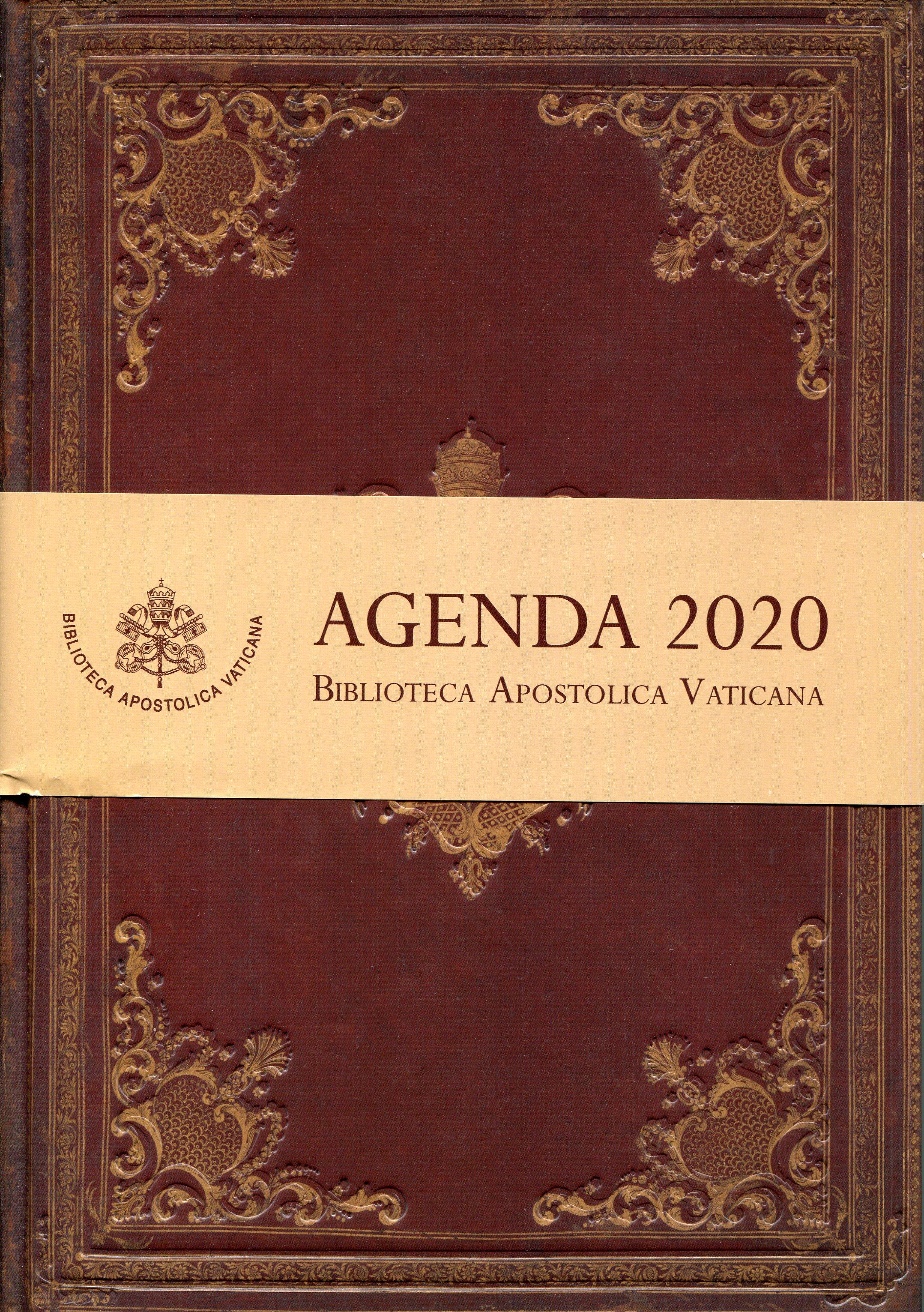 Agenda 2020 - Agende annuali della Biblioteca Apostolica Vaticana - (grande 18x25)